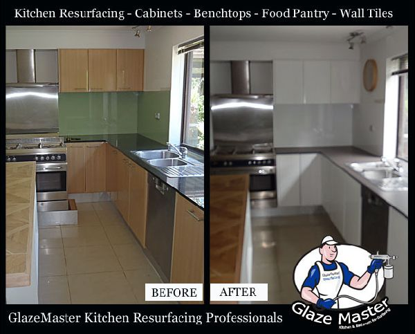 Gold Coast Kitchen Resurfacing Glazemaster